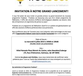 Invitation Freebees_Gatineau_9juillet2014 2
